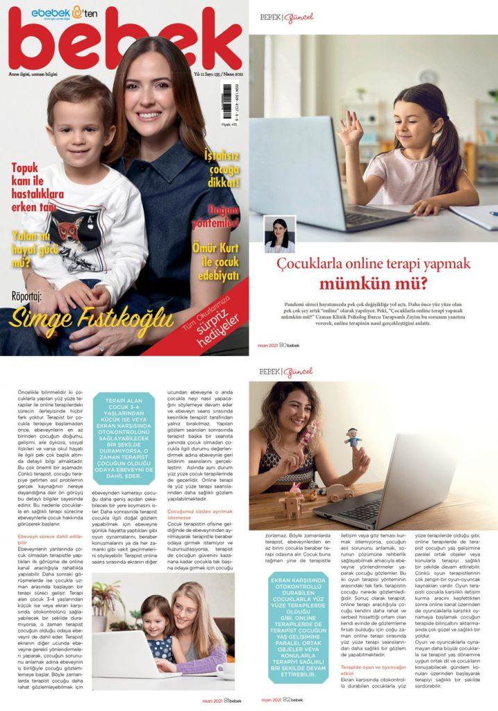 bebek dergisi - Basında Biz